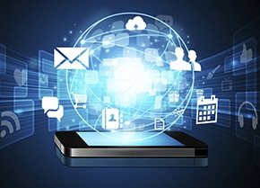 Mobile phone best option for data