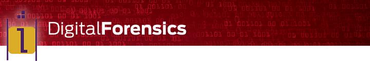 Vestige - Digital Forensics art - red - i